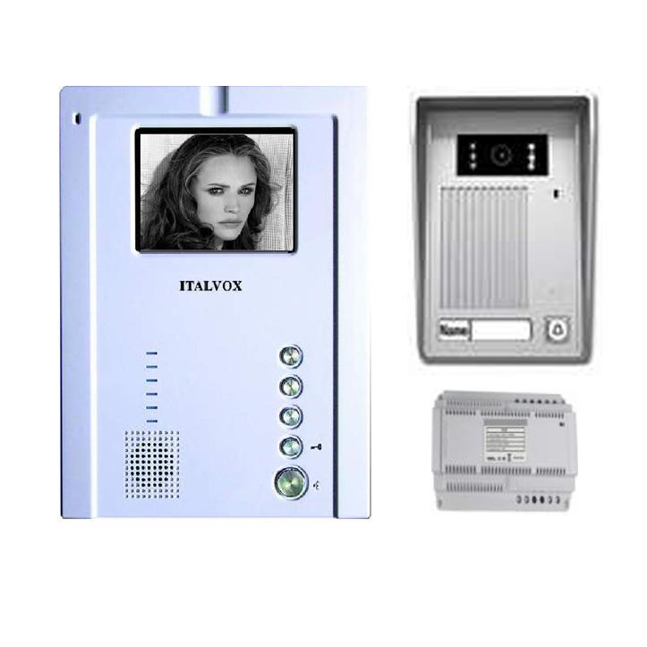 SET/BW All-In-One Black \u0026 White Video DoorPhone  sc 1 st  ITALVOX & DOOR MONITORS :: DOOR MONITOR SETS :: SET/BW All-In-One Black ...